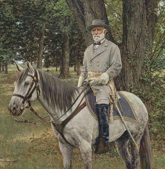 GENERAL ROBERT E LEE ON TRAVELLER